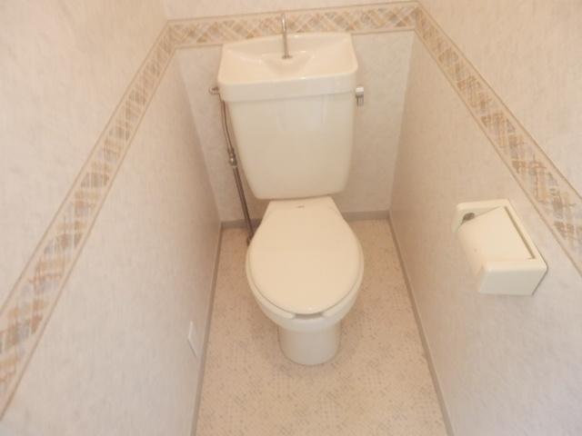 Fountain Hill 206号室のトイレ
