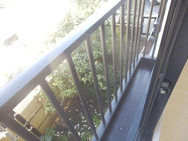 Fountain Hill 206号室のバルコニー