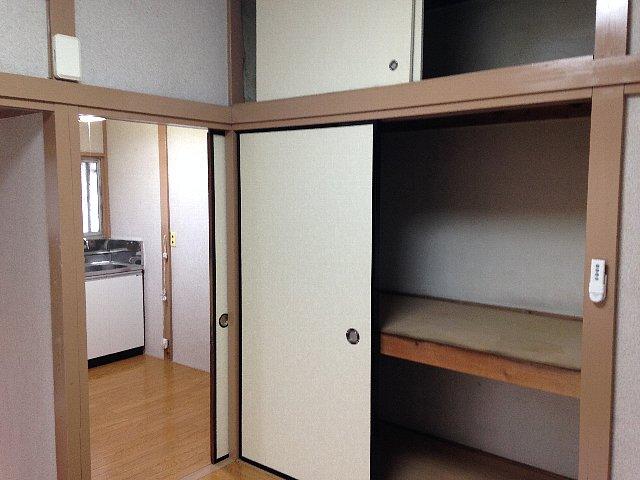第2里美荘 202号室の収納