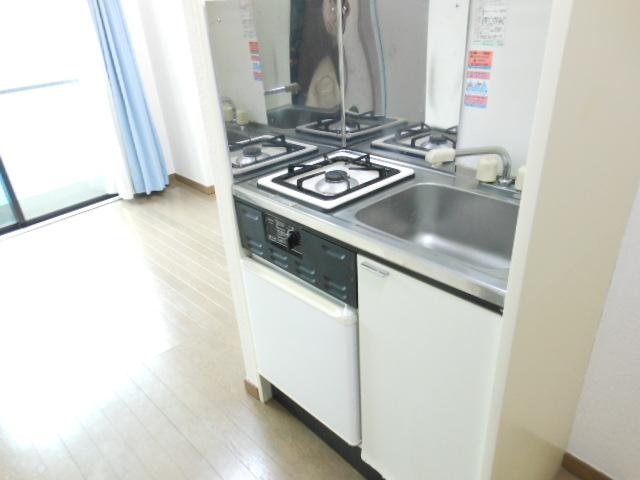 リビエール林 506号室のキッチン