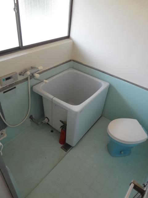 山根荘 205号室の洗面所