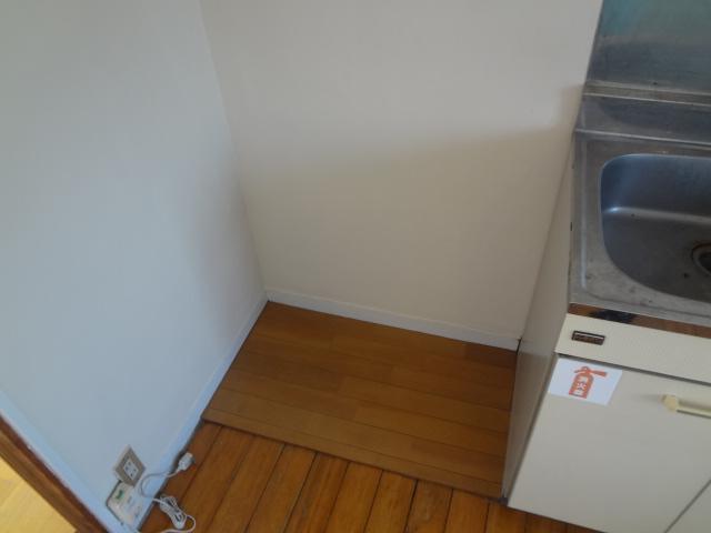 山根荘 205号室のキッチン