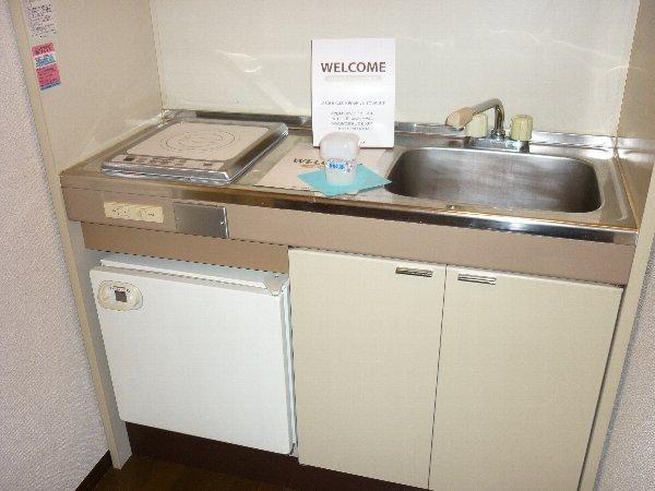 サンコーポ 105号室のキッチン