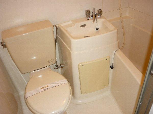 サンコーポ 105号室の風呂