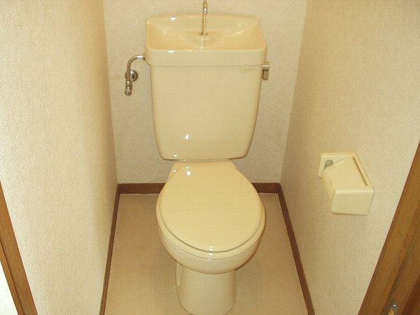 パークサイド 105号室のトイレ