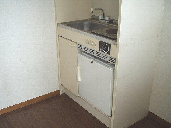 パークサイド 105号室のキッチン