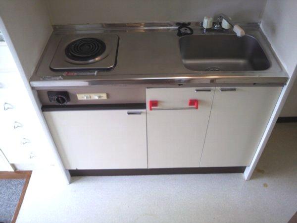 カレッジ平成 203号室のキッチン