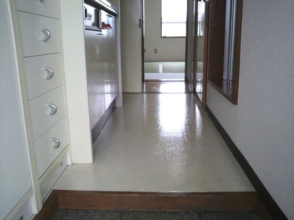 カレッジ平成 203号室の玄関