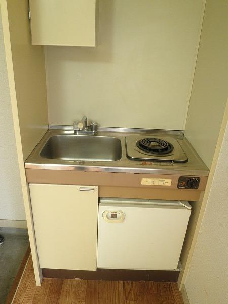 むつみ荘 101号室のキッチン