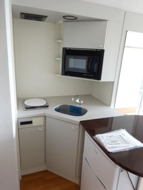 ラ・パルフェ・ド・プレオ 503号室のキッチン