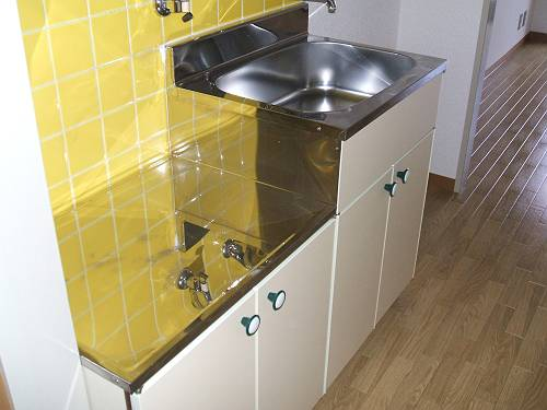洛西みやびビル 208号室のキッチン