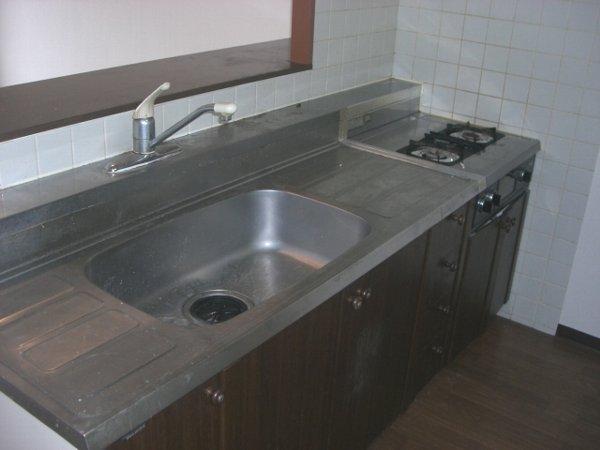 アルボレダ武蔵浦和Ⅰ 201号室のキッチン