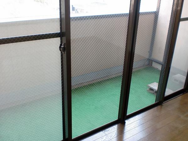 ゴールドマンション浦和 303号室のバルコニー