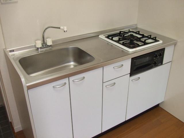 第10秋葉ビル 208号室のキッチン