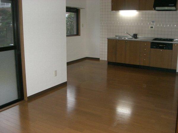 クィーンズ・ヴィラ武蔵浦和 205号室のリビング