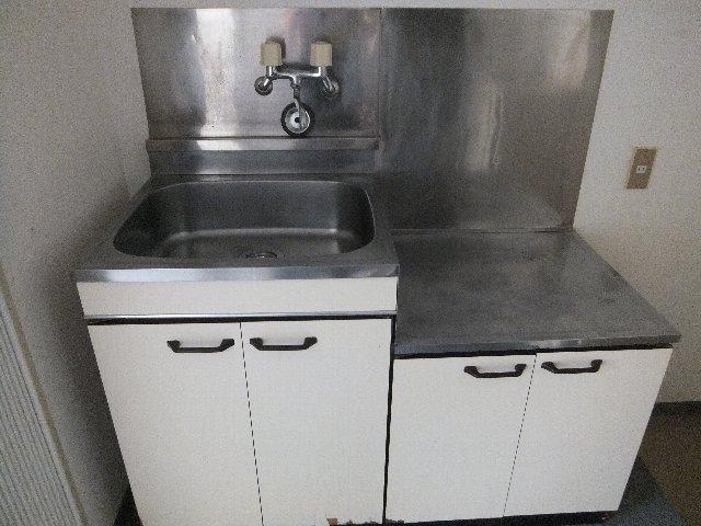 ウエストウイング 204号室のキッチン