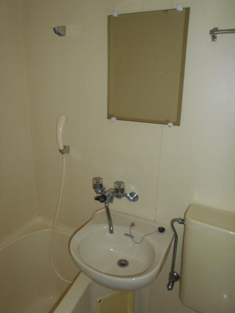 CRESENT TOWN 308号室の洗面所