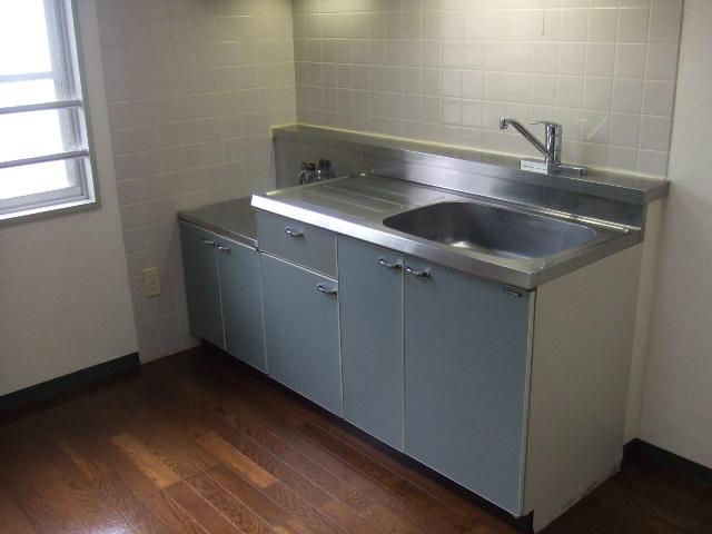 ボナールハナブサ 306号室のキッチン