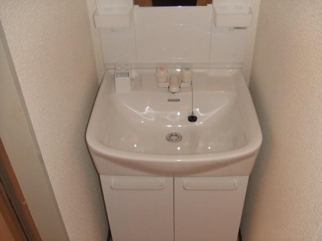 ボナールハナブサ 306号室の洗面所