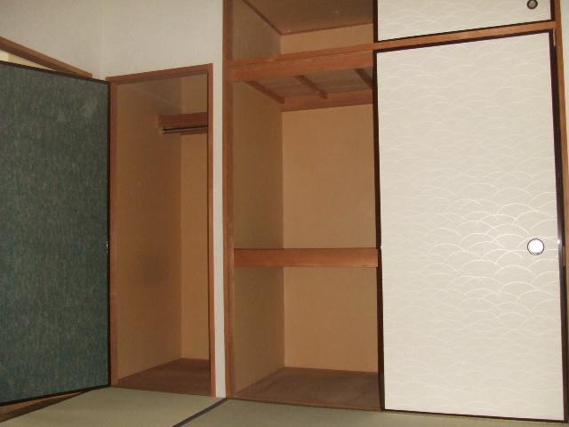 ボナールハナブサ 306号室の収納