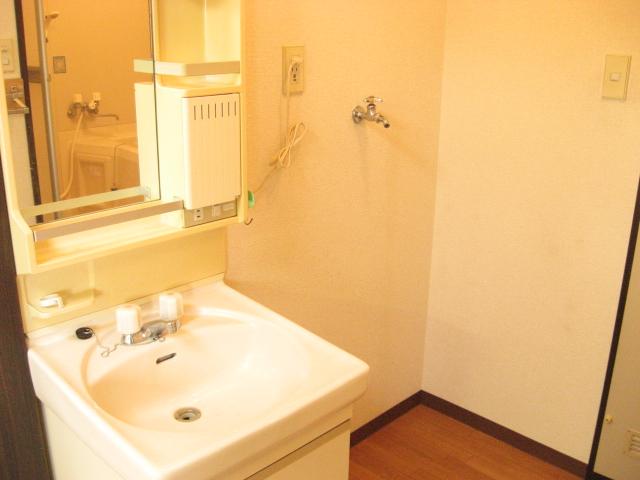 コーナーハウス C 103号室の洗面所