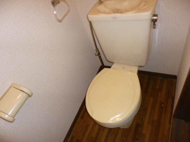 シャンボール内谷 202号室のトイレ
