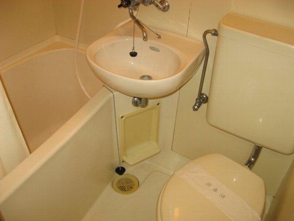 リバティハウス 307号室の風呂