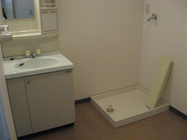 グリーンパークタニグチ 504号室の洗面所