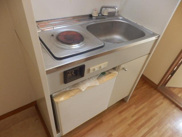 ツインホーム 106号室のキッチン