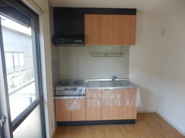 ウィン中浦和 102号室のキッチン