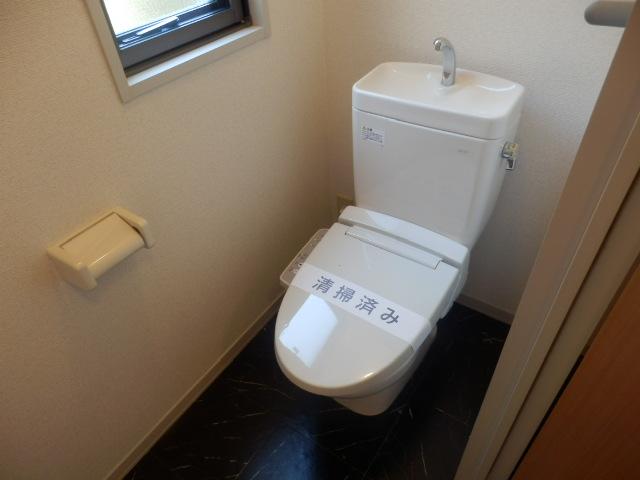 ウィン中浦和 102号室のトイレ