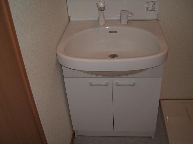 アンプルールクラージュWEST 103号室の洗面所