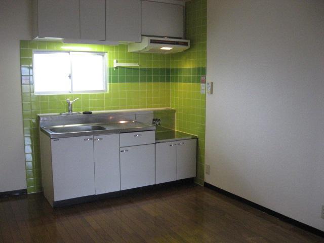 グリーンパークタニグチⅡ 103号室のキッチン