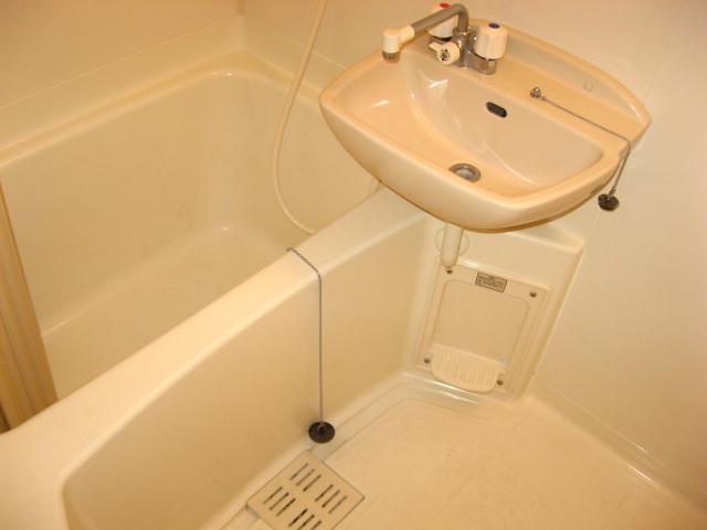 グリーンハイム壱番館 203号室の風呂
