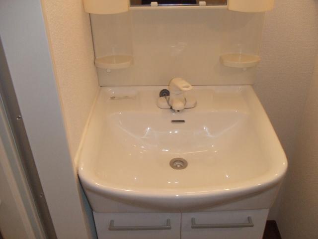 レジデンツ藤C 101号室の洗面所