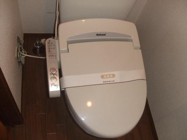 レジデンツ藤C 101号室のトイレ