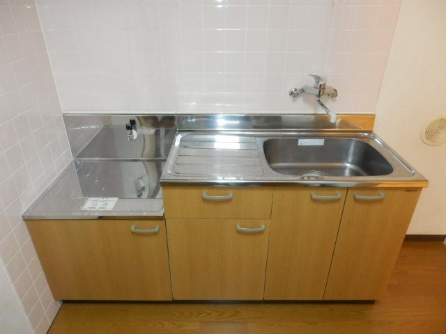 グランドール武蔵浦和 302号室のキッチン
