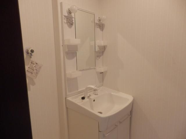 M-grace 101号室の洗面所