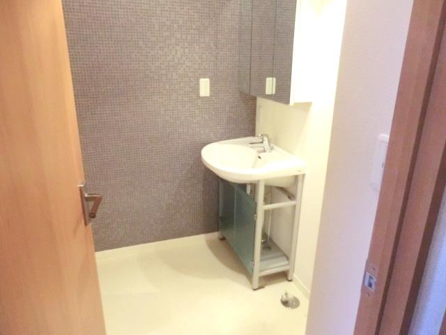 サンモールT 202号室の洗面所