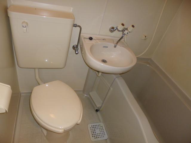 武蔵浦和ハイツ 102号室の風呂