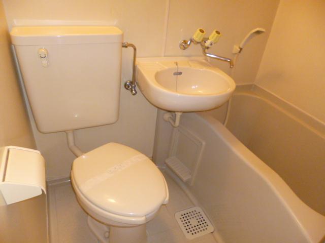 武蔵浦和ハイツ 202号室の風呂