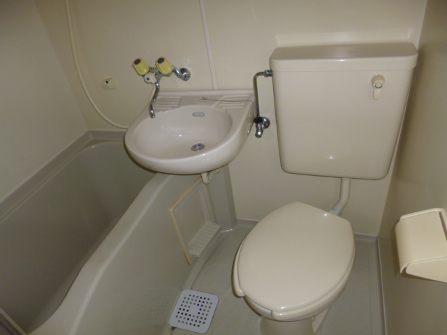 武蔵浦和ハイツ 308号室の風呂