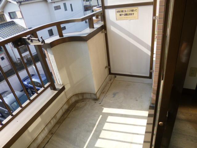 武蔵浦和ハイツ 308号室のバルコニー