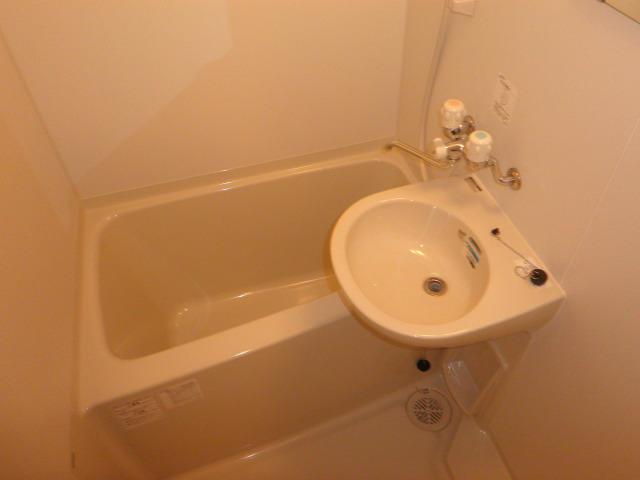 ラトゥール桜丘 202号室の風呂