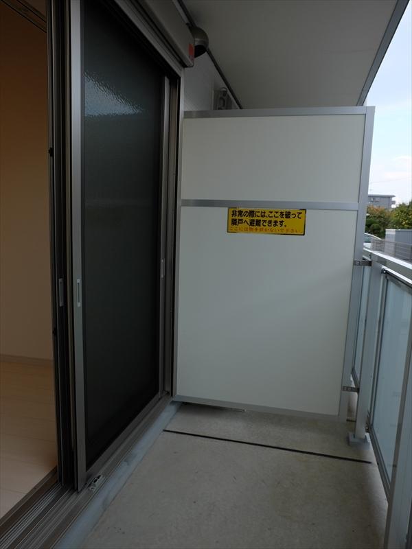 リブリ・MARSⅡ 106号室のバルコニー
