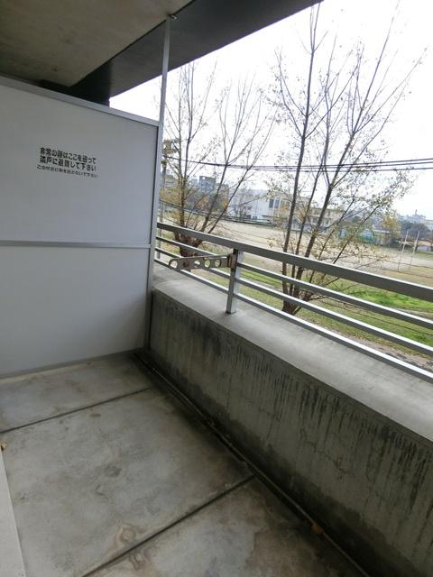 箱崎パルク 408号室のバルコニー