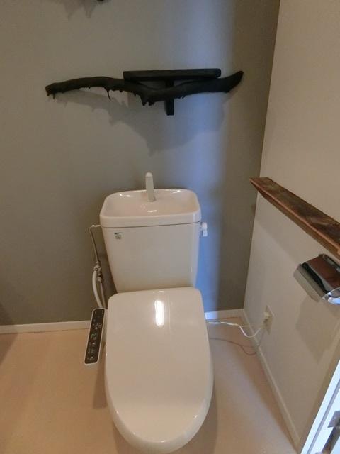 箱崎パルク 408号室のトイレ