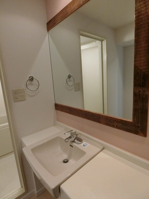 箱崎パルク 408号室の洗面所