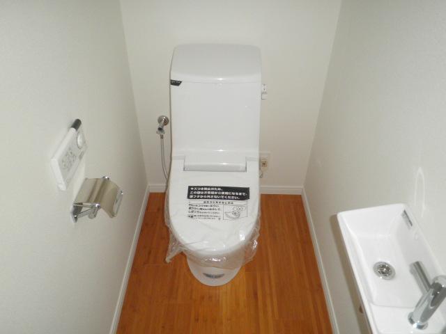 リンデス 202号室のトイレ
