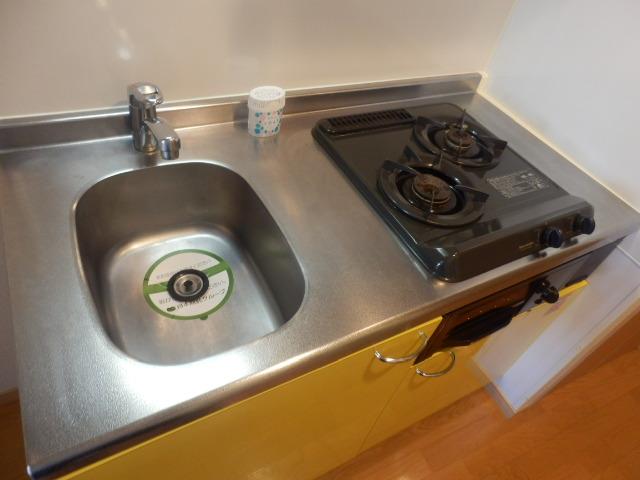 ジュエル上野毛 304号室のキッチン